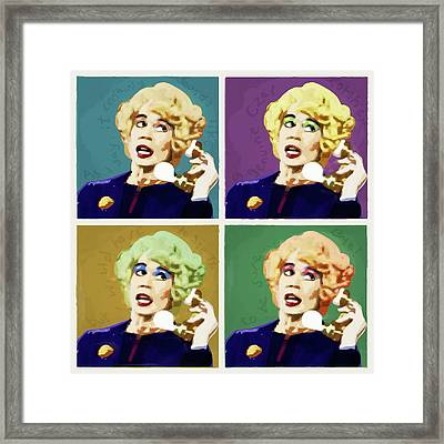 Miss Babs, Acorn Antiques Framed Print