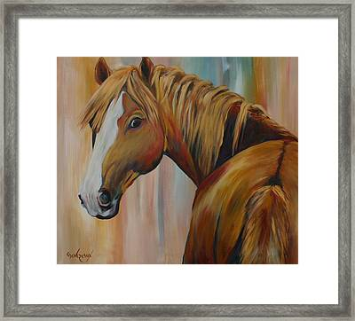 Miss Candi Framed Print by Cher Devereaux