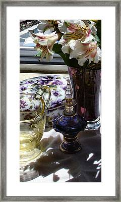 Miss Ella's Boarding House Still Life Framed Print