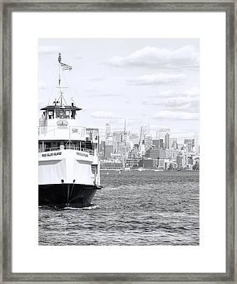 Miss Ellis Island Framed Print by Dan Sproul