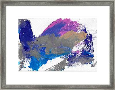Miss Emma's Abstract Framed Print