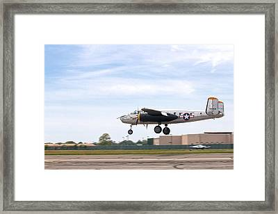 Miss Hap Framed Print by Jim Poulos