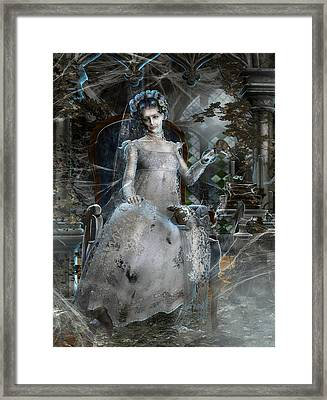 Miss. Havisham Framed Print