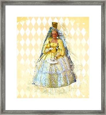 Miss Havisham Framed Print by Methune Hively