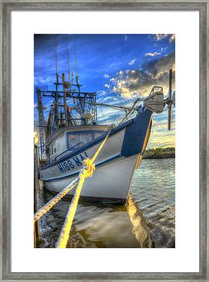 Miss Mai 02 Framed Print by Mark Hazelton