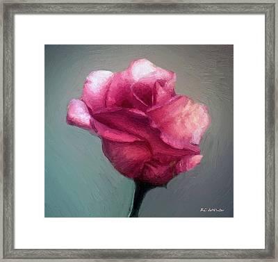 Miss Melanie Framed Print