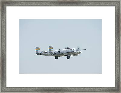 Miss Mitchell Flyby Framed Print