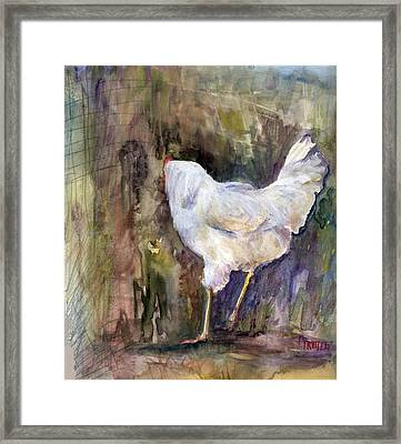 Miss Priss Framed Print by Jimmie Trotter