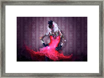 Miss Red Framed Print