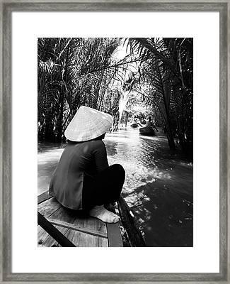 Miss Saigon Framed Print by Agnes Czekman