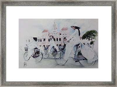 Miss Saigon Framed Print by Alan Kirkland-Roath