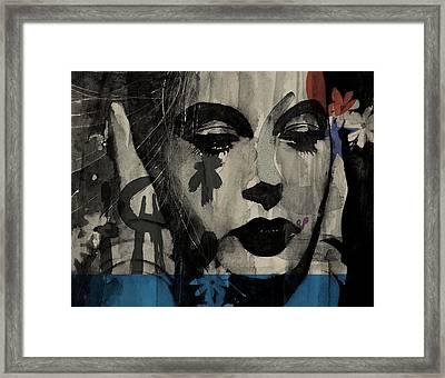 Miss Sarajevo  Framed Print