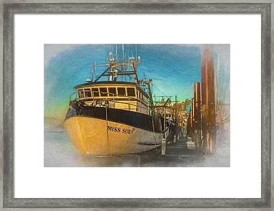 Miss Sue Framed Print
