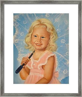 Miss Sunshine Framed Print by Joni McPherson