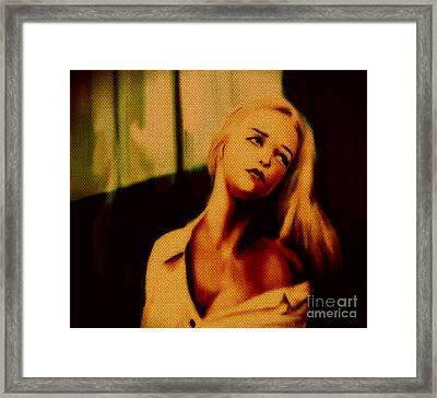 Miss U  Framed Print by Felix Von Altersheim