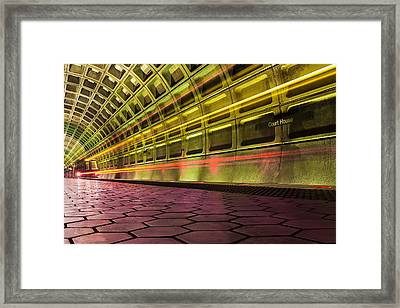 Missed Train Framed Print