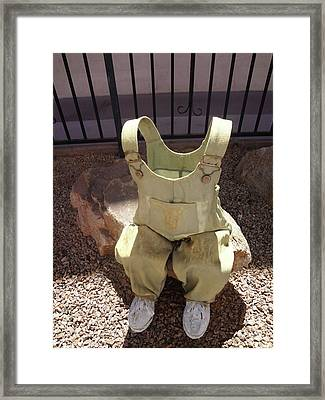 Missing Child Framed Print by Bruce Iorio