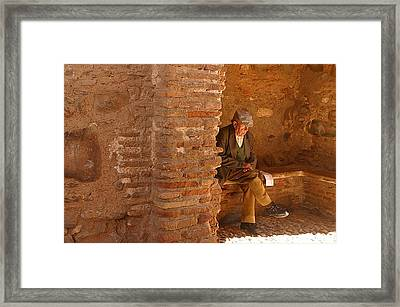 Missing Her Framed Print by Jez C Self
