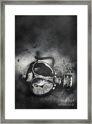 Missing In Action Framed Print