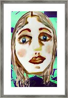 Missing Mirror Framed Print