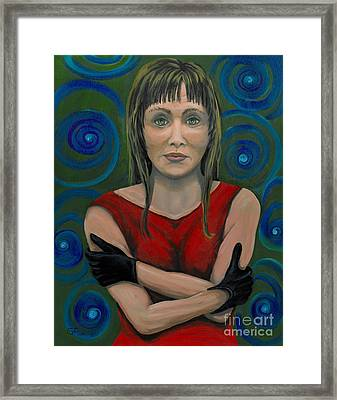 Framed Print featuring the painting Missing My Man by Gail Finn