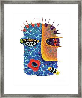 Missing The Sea Framed Print by Opas Chotiphantawanon