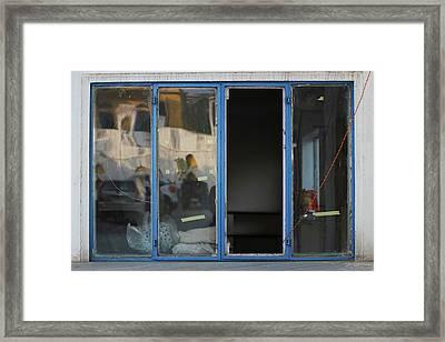 Missing Window Pane Framed Print by Prakash Ghai