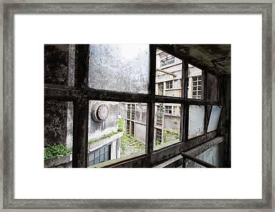 Missing Windows - Urban Decay Framed Print