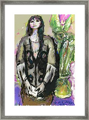 Missing You 3 Framed Print by Noredin Morgan