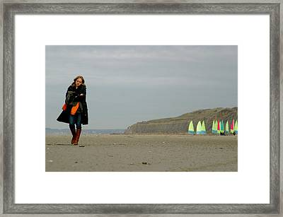 Missing You Framed Print by Jez C Self