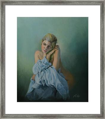 Missing You Framed Print