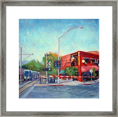 Mission And Meridian Framed Print by Athena  Mantle