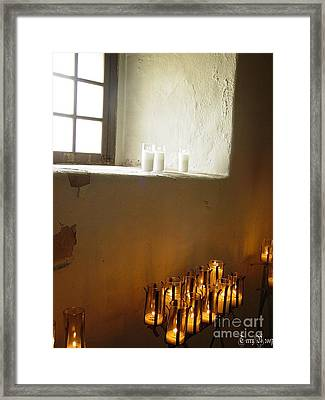Mission At Goliad Texas Framed Print