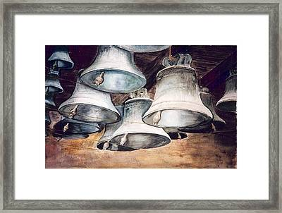 Mission Bells Framed Print by Dwight Williams