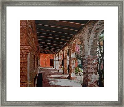 Mission Capistrano Framed Print