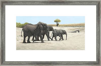 Mission Framed Print by Clive Meredith