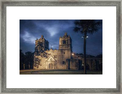 Mission Concepcion Early Morning Framed Print