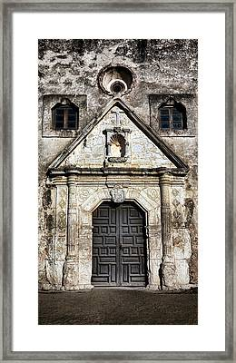 Mission Concepcion Front Framed Print by Stephen Stookey