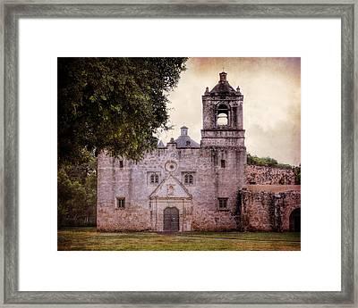 Mission Concepcion San Antonio II Framed Print by Joan Carroll