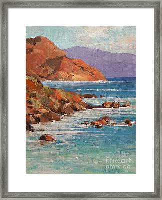 Mission Cove Framed Print
