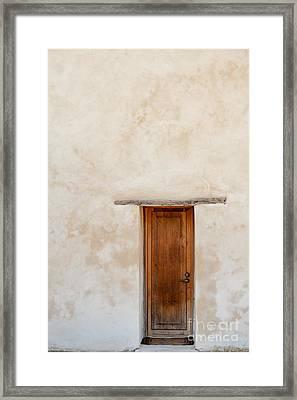 Mission Door Framed Print