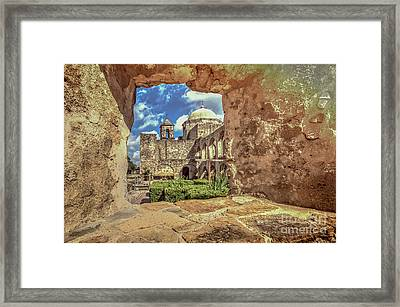 Mission Framed Framed Print