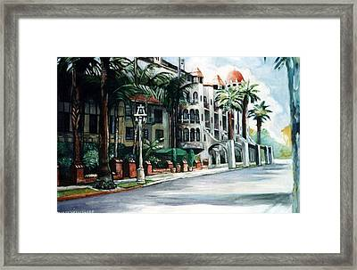 Mission Inn - Riverside- California Framed Print