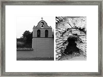 Mission La Purisima Concepcion No1 Framed Print by Mic DBernardo