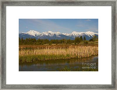 Mission Mountain Delight Framed Print