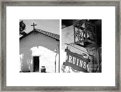 Mission Nuestra Senora De La Soledad No1 Framed Print by Mic DBernardo