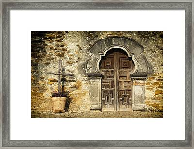 Mission Pilgrimage Framed Print