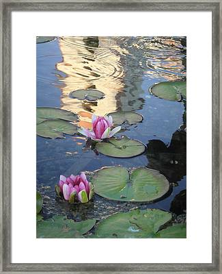 Mission Reflected Framed Print