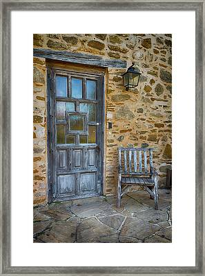 Mission Rest Framed Print by Stephen Stookey