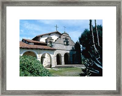 mission San antonio 2 Framed Print